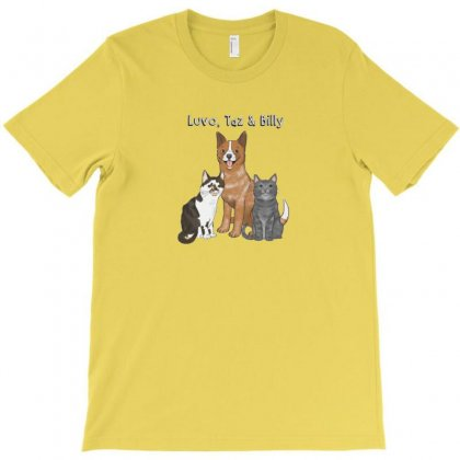 Billy And Shiba T-shirt Designed By Arum