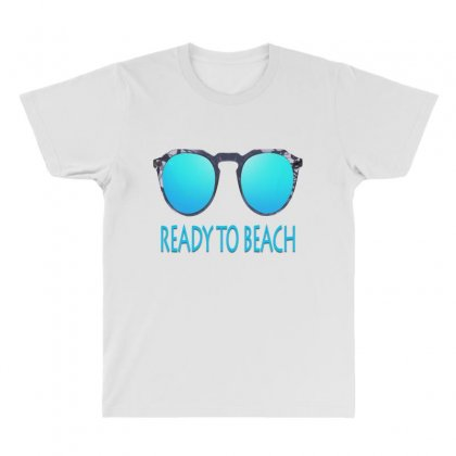 Ready To Beach All Over Men's T-shirt Designed By Ran Studio