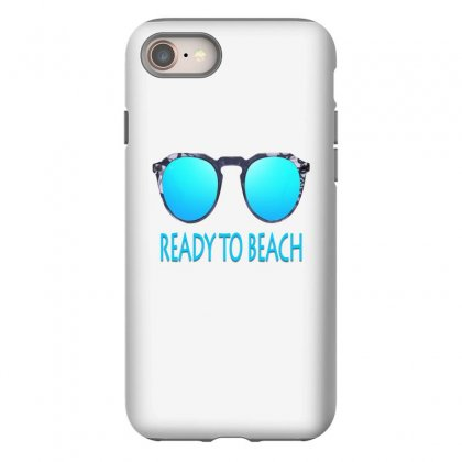 Ready To Beach Iphone 8 Case Designed By Ran Studio