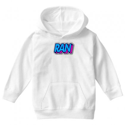 Ran Youth Hoodie Designed By Ran Studio