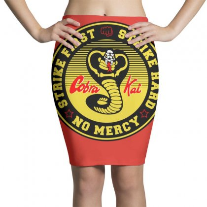 Cobra Kai Pencil Skirts Designed By Arum