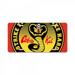 cobra kai License Plate | Artistshot