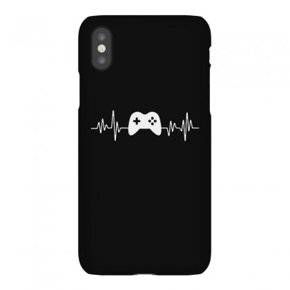 Gamer Heartbeat Iphonex Case Designed By Creative Tees
