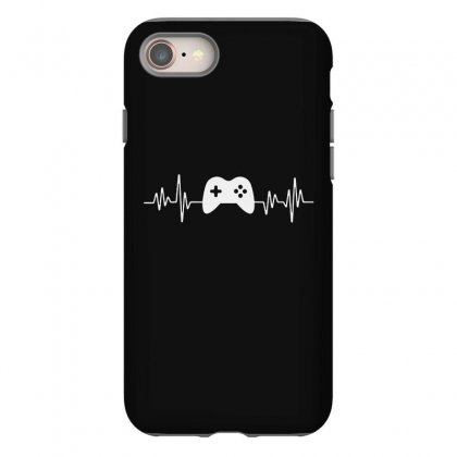 Gamer Heartbeat Iphone 8 Case Designed By Creative Tees
