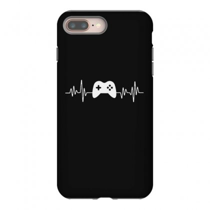 Gamer Heartbeat Iphone 8 Plus Case Designed By Creative Tees