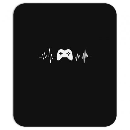 Gamer Heartbeat Mousepad Designed By Creative Tees