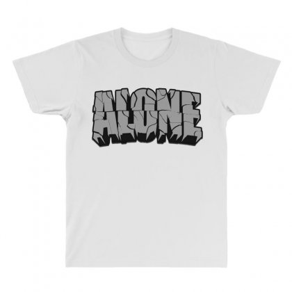 Alone All Over Men's T-shirt Designed By Ran Studio