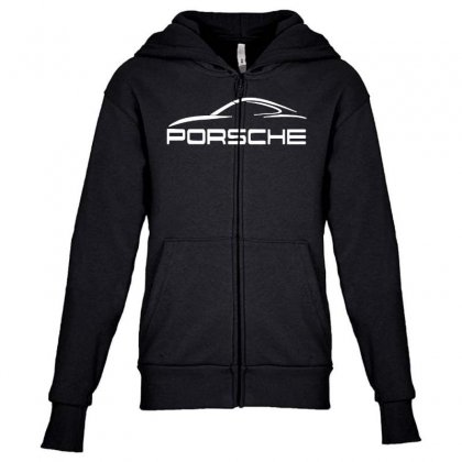 Awesome Car Youth Zipper Hoodie Designed By Rodgergise