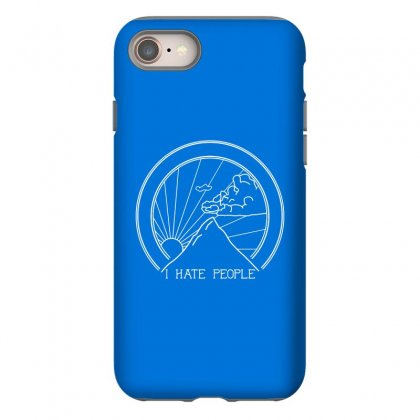 Hate People Merch Iphone 8 Case Designed By Arum