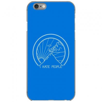 Hate People Merch Iphone 6/6s Case Designed By Arum