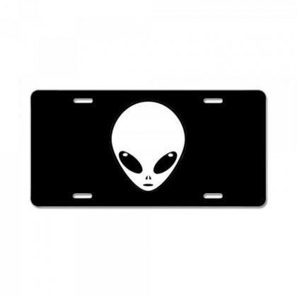 Alien License Plate Designed By Bluemary