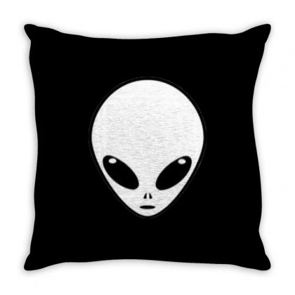 Alien Throw Pillow Designed By Bluemary