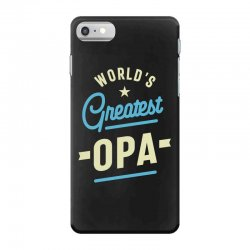 World's Greatest Opa Grandpa iPhone 7 Case | Artistshot