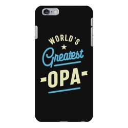 World's Greatest Opa Grandpa iPhone 6 Plus/6s Plus Case | Artistshot