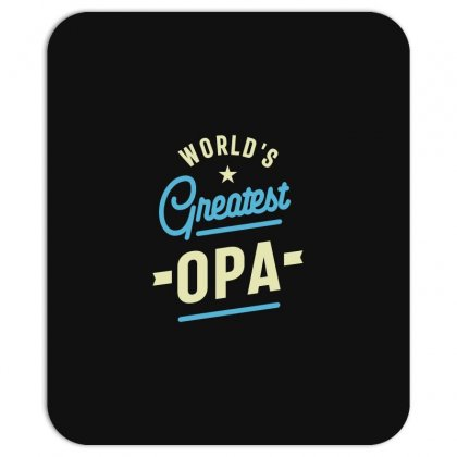 World's Greatest Opa Grandpa Mousepad Designed By Cidolopez