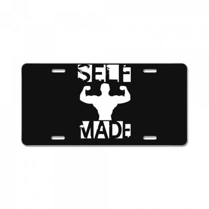 Self Made License Plate Designed By Fanshirt