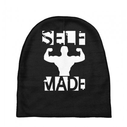 Self Made Baby Beanies Designed By Fanshirt