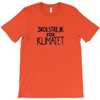 Skolstrejk For Klimatet T-shirt Designed By Arum