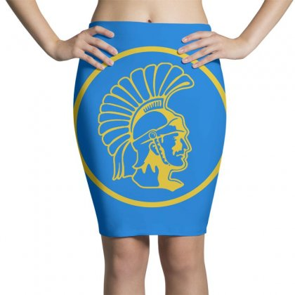 Topeka High School Merch Pencil Skirts Designed By Arum