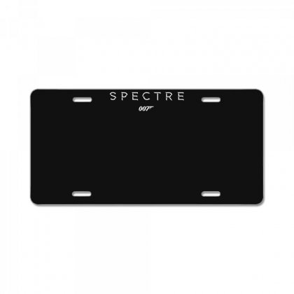Spactre 007 License Plate Designed By Fanshirt