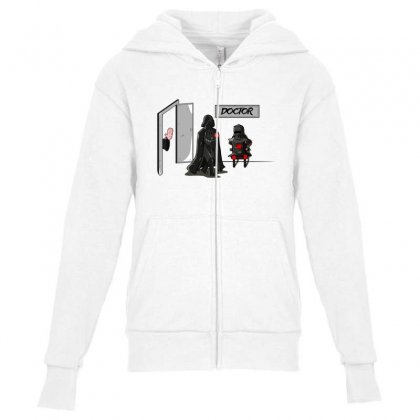 Doctor Suth Youth Zipper Hoodie Designed By Sr88