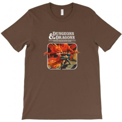 Dungeons & Dragons  Dungeons & Amp T-shirt Designed By Arum