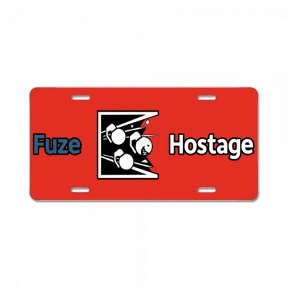 Fuze License Plate Designed By Arum