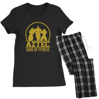 Aztec Gods Of Fitness Women's Pajamas Set Designed By Sr88