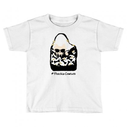 Poochie Couture Toddler T-shirt Designed By Milaart