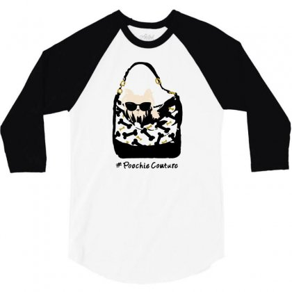 Poochie Couture 3/4 Sleeve Shirt Designed By Milaart