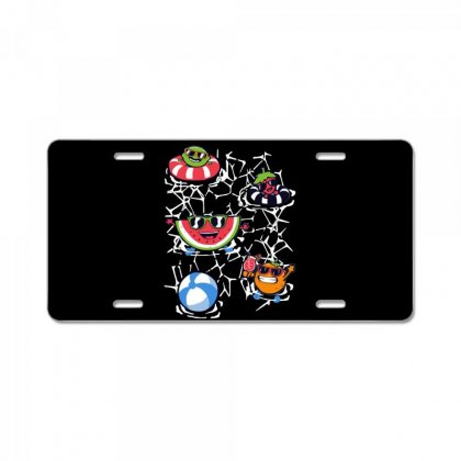 Pool Party License Plate Designed By Milaart