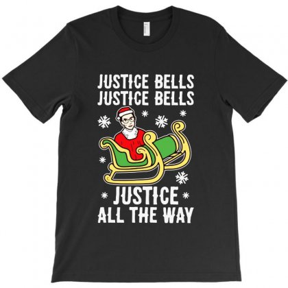 Justice Bells T-shirt Designed By Creative Tees