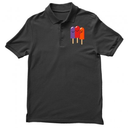 Popsicle Season Men's Polo Shirt Designed By Milaart