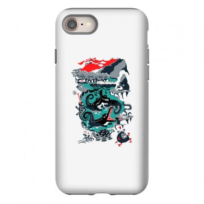 Positive Thinking Iphone 8 Case Designed By Milaart
