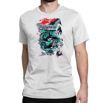 Positive Thinking Classic T-shirt Designed By Milaart
