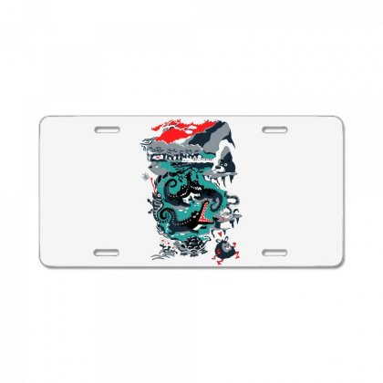 Positive Thinking License Plate Designed By Milaart