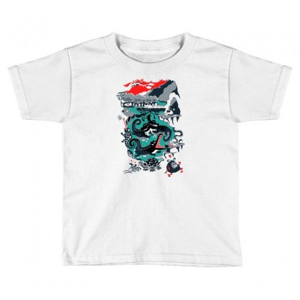 Positive Thinking Toddler T-shirt Designed By Milaart