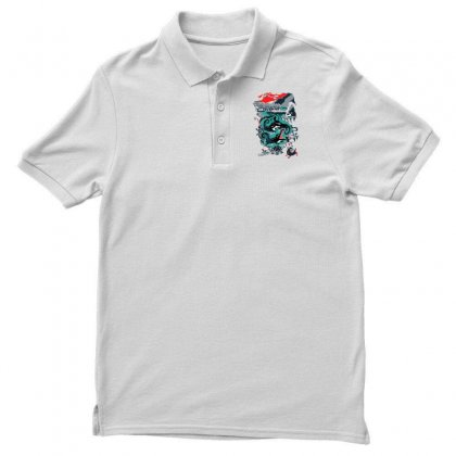 Positive Thinking Men's Polo Shirt Designed By Milaart