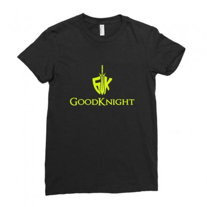 Goodknight A Comedy Rap Duo Ladies Fitted T-shirt Designed By Sr88