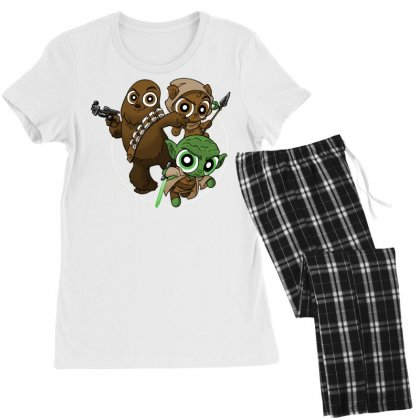 Power Critters Women's Pajamas Set Designed By Milaart