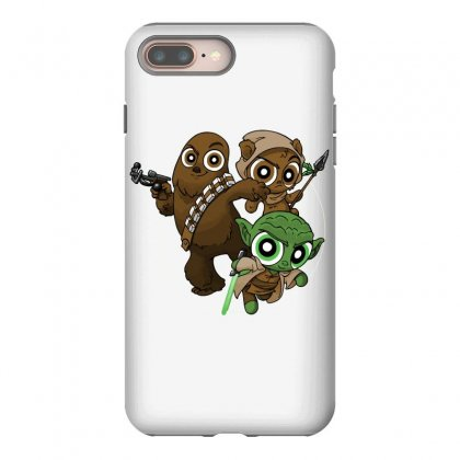 Power Critters Iphone 8 Plus Case Designed By Milaart