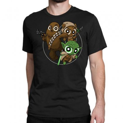 Power Critters Classic T-shirt Designed By Milaart