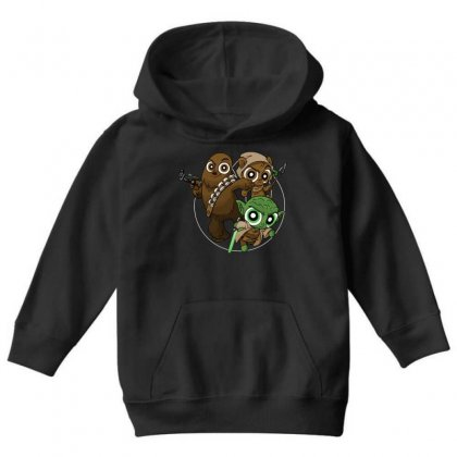 Power Critters Youth Hoodie Designed By Milaart
