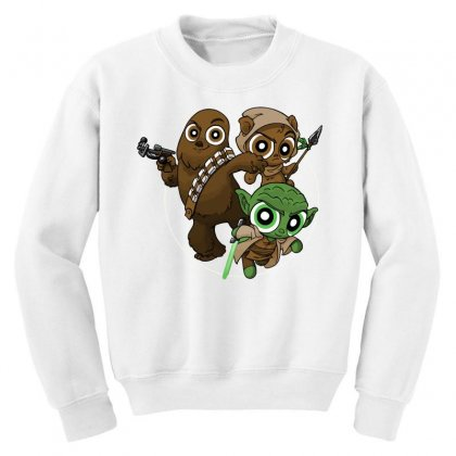 Power Critters Youth Sweatshirt Designed By Milaart