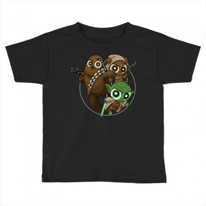 Power Critters Toddler T-shirt Designed By Milaart