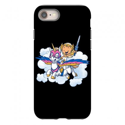 Power Princess Iphone 8 Case Designed By Milaart
