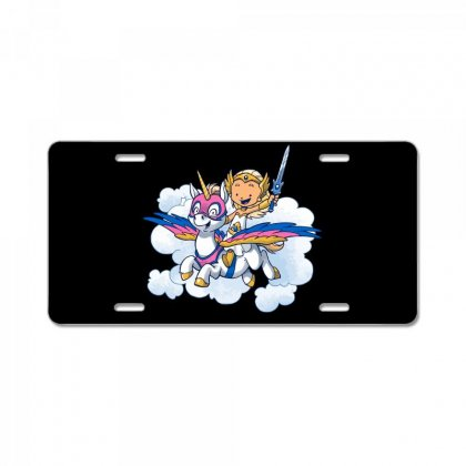 Power Princess License Plate Designed By Milaart