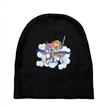 Power Princess Baby Beanies Designed By Milaart