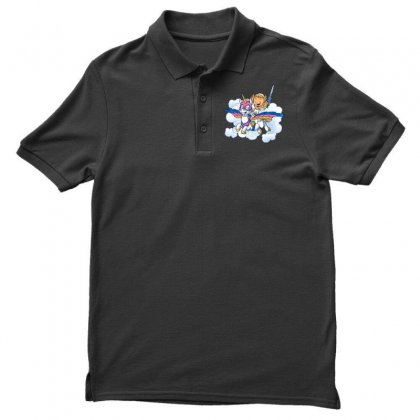Power Princess Men's Polo Shirt Designed By Milaart