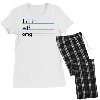 Practice Your Texting Women's Pajamas Set Designed By Milaart